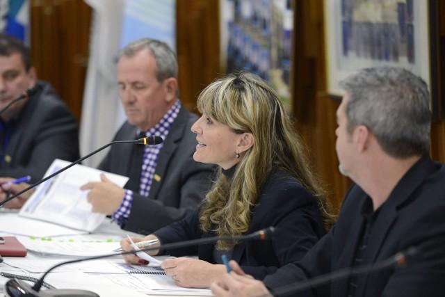 Conseillère de l'ERD, Josée Néron a qualifié le... ((Photo Jeannot Lévesque))