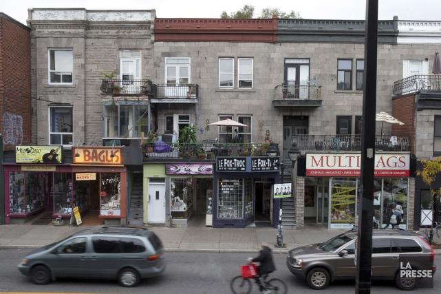Les commerçants du boulevard Saint-Laurent, de l'avenue du... (PHOTO ROBERT SKINNER, ARCHIVES LA PRESSE)