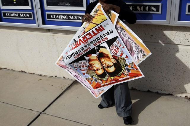 De très nombreuses chaînes de cinéma américaines ont renoncé à projeter dans... (Photo: AP)