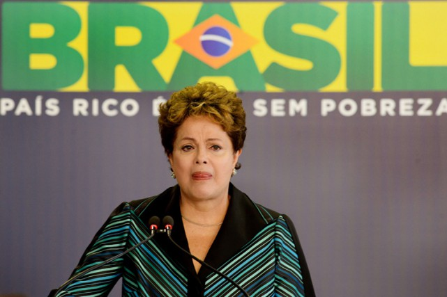 Dilma Rousseff... (Photo: AFP)