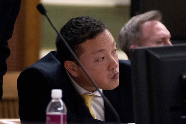 Markus Kaarma en cour le 5 décembre dernier.... (Photo: Reuters)