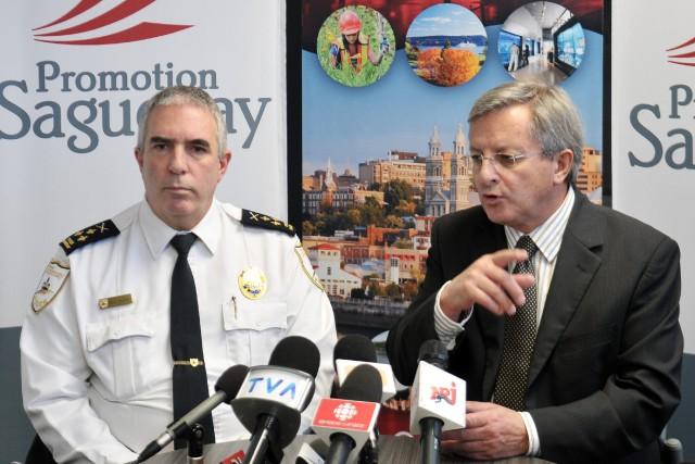 Le chef de la police de Saguenay, Denis... ((Archives))