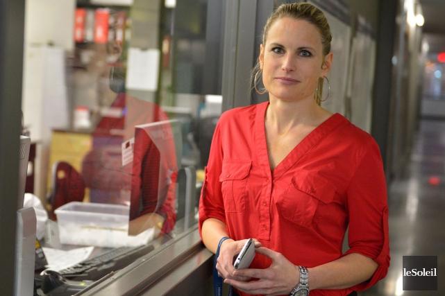 Mélissa Lafond, directrice des ressources humaines chez inVentiv... (Le Soleil, Yan Doublet)