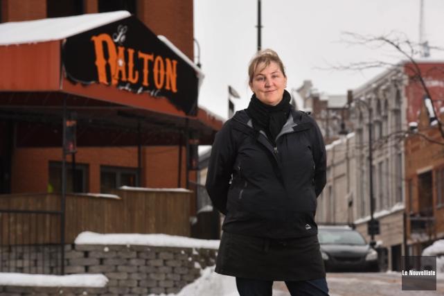 Sophie Pagé, propriétaire du Dalton, a décidé de... (Photo: François Gervais, Le Nouvelliste)