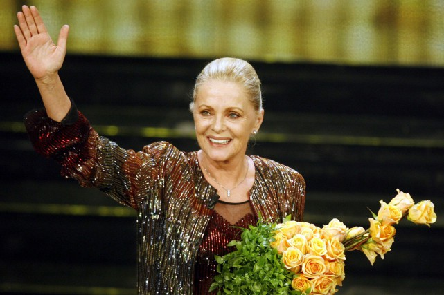 Virna Lisi en 2006... (Photo archives AP)