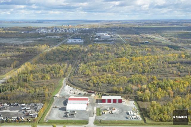 Le parc industriel de Bécancour.... (Photo Émilie O'Connor, archives Le Nouvelliste)
