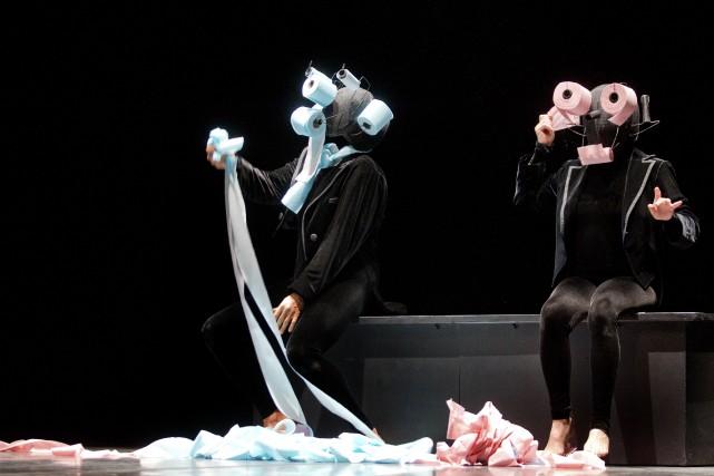 La troupe suisse, qui s'est imposée au fil des ans comme une pionnière du... (Photo fournie par la production)