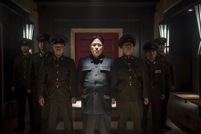 L'acteur Randall Park personnifie Kim Jong-un dans The Interview.... (Photo AP Photo/Columbia Pictures/Sony)