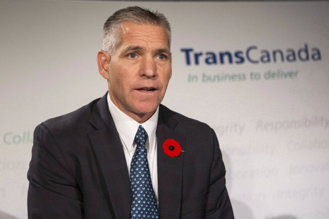 Le chef de la direction de TransCanada, Russ Girling.... (Photo Chris Young, Archives La Presse Canadienne)