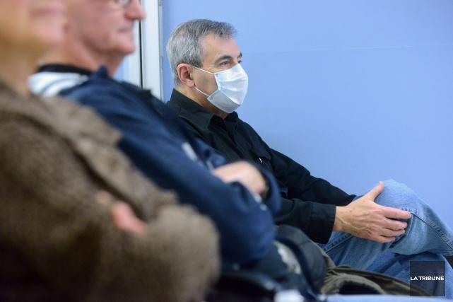 La saison de la grippe s'annonce virulente et la direction du CHUS a pris des... (Imacom, Maxime Picard)