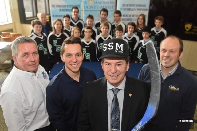 Le programme de hockey du SSM fera peau... (Photo: François Gervais, Le Nouvelliste)