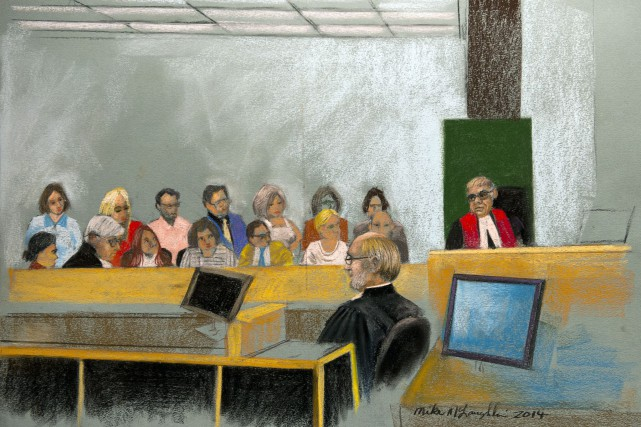 Le jury doit choisir entre quatre options quant... (Illustration Mike McLaughlin, PC)