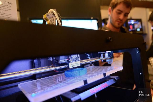 Aujourd'hui, l'impression 3D est utilisée à 90% pour... (PHOTO EMMANUEL DUNAND, ARCHIVES AFP)