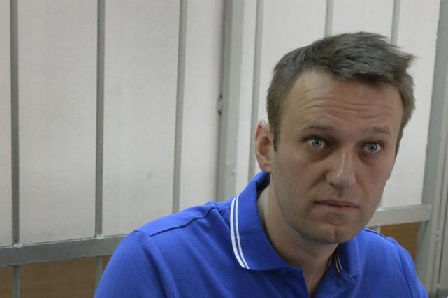 Alexeï Navalny, blogueur et dénonciateur de la corruption... (PHOTO VASILY MAXIMOV, AFP)
