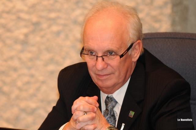 René Goyette, président de la Régie de gestion... (Photo: François Gervais, Le Nouvelliste)