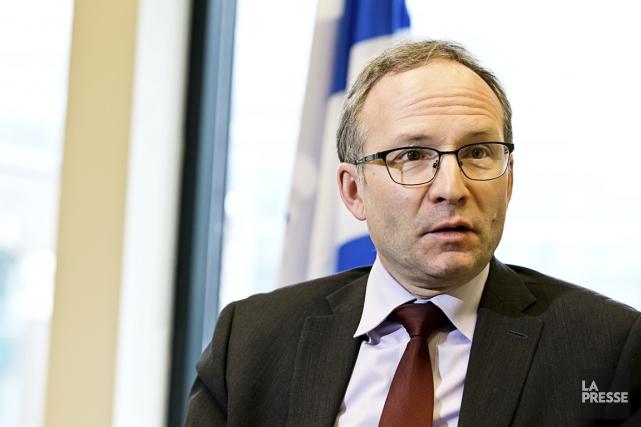 Le président du Conseil du trésor, Martin Coiteux.... (PHOTO HUGO-SÉBASTIEN AUBERT, ARCHIVES LA PRESSE)