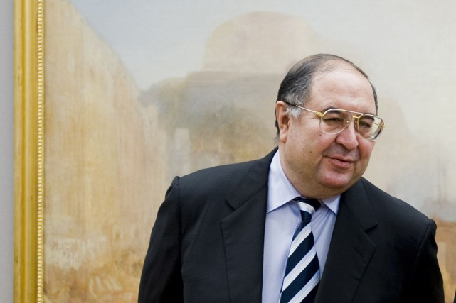 La fortune d'Alicher Ousmanov est estimée par Forbes à 18,6 milliards... (Photo Archives Bloomberg News)
