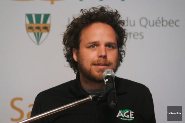 Mathieu Roy, président de l'Association générale des étudiants... (Photo: François Gervais, Le Nouvelliste)