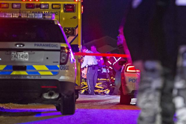 Il s'agit du 27e homicide à se produire... (PHOTO FÉLIX O.J. FOURNIER, COLLABORATION SPECIALE)