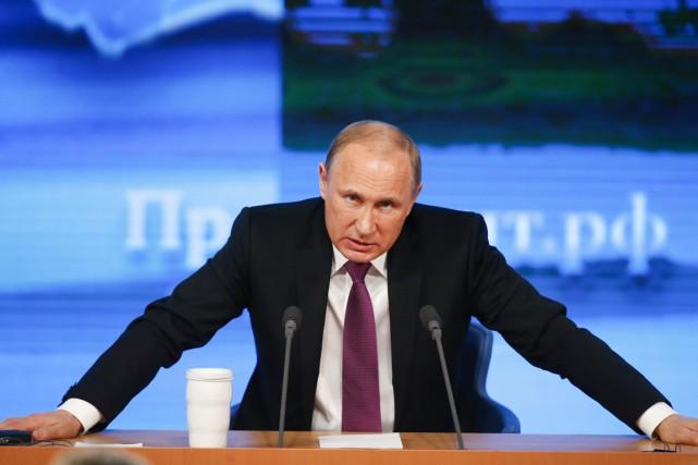 Le président russe, Vladimir Poutine, a assuré que... (PHOTO MAXIM ZMEYEV, REUTERS)