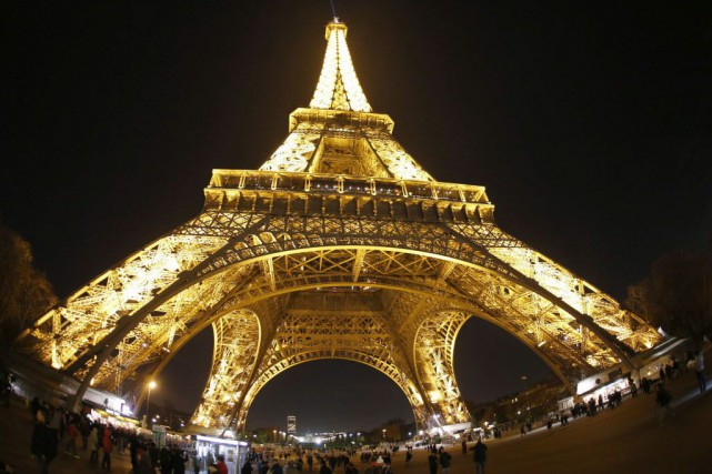 «80% des salariés de la SCSC Tour Eiffel... (Photo Charles Platiau, Reuters)