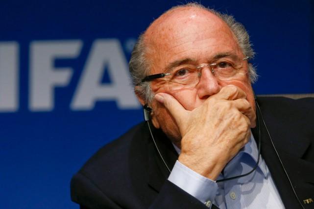 Le président de la FIFA, Sepp Blatter.... (Photo Arnd Wiegmann, archives Reuters)