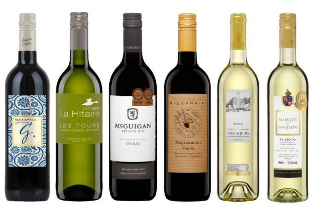 Le temps des Fêtes est souvent le prétexte pour déguster des vins plus chers,... (Photos fournies par la SAQ)