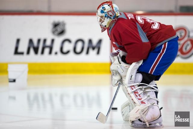 Dustin Tokarski... (Photo François Roy, archives La Presse)