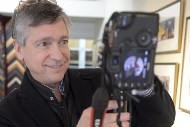 Le fondateur de l'agenceMaps360.ca, Guy Couture... (Photo fournie par Maps360.ca)