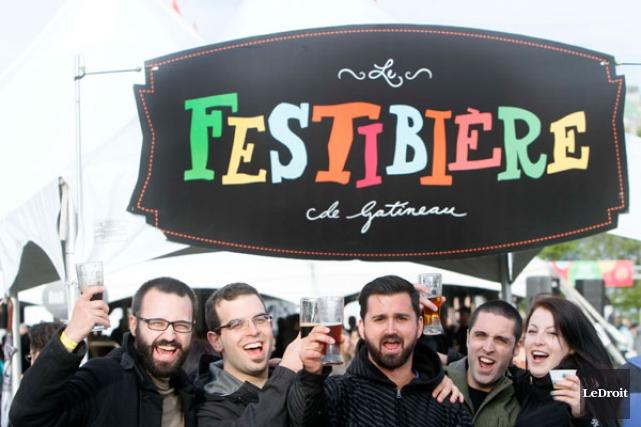 Depuis sa première broue en 2011, le Festibière de Gatineau a parcouru un... (SIMON SÉGUIN-BERTRAND, Archives LeDroit)