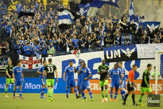 L'Impact de Montréal disputera son match d'ouverture local le 28 mars au Stade... (Photo Robert Skinner, archives La Presse)