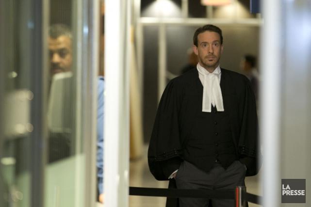 Le procureur de la couronne, Pascal Dostaler... (PHOTO IVANOH DEMERS, LA PRESSE)