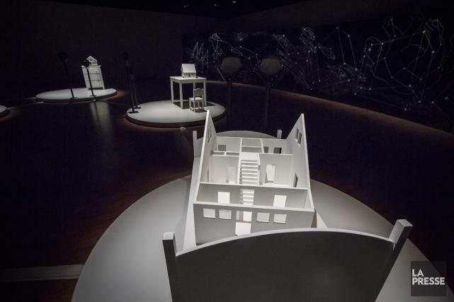 L'exposition Broken land, Histoires contées et racontées, de... (Photo: Olivier Pontbriand, La Presse)