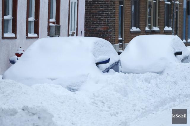 Le déneigement à Québec crée de l'insatisfaction.... (Photothèque Le Soleil, Yan Doublet)