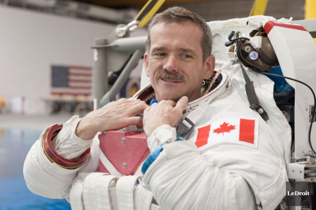 2012 - L'astronaute canadien Chris Hadfield s'envole du Kazakhstan pour son... (ARCHIVES, LeDroit)