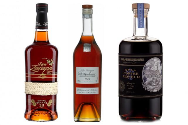 Pour l'amie ou l'oncle amateur de spiritueux, voici quelques bouteilles qui... (Photos fournies par la SAQ, La Maison Dartigalongue et St. George Spirits)