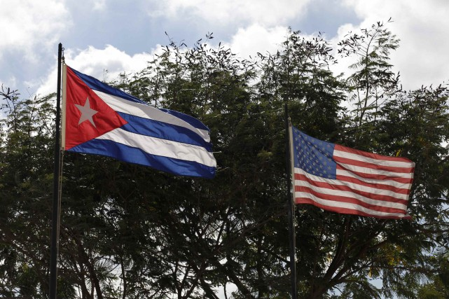 Le président des États-Unis Barack Obama a affirmé vendredi que Cuba, pays... (Photo Enrique De La Osa, Reuters)