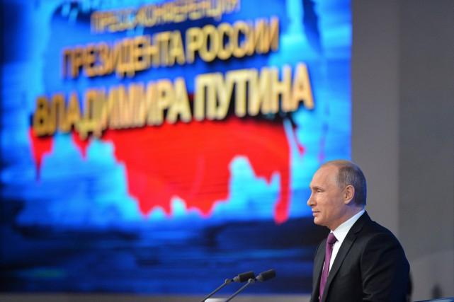 Le président russe Vladimir Poutine.... (PHOTO ALEXEI DRUZHINNIN, AP)