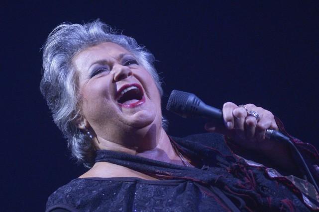 Ginette Reno devait chanter au Capitole de Québec... (Photo Le Soleil, Jean-Marie Villeneuve)