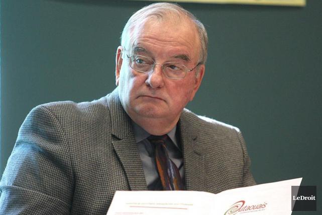 Le maire Robert Goulet a mentionné que L'Ange-Gardien... (Étienne Ranger, archives LeDroit)