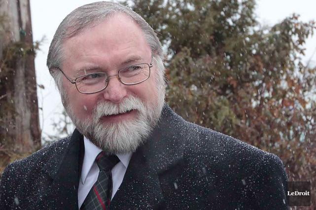 Le maire de La Pêche, Robert Bussière.... (Étienne Ranger, Archives LeDroit)