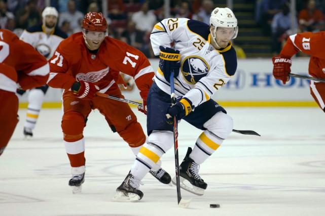 Le joueur de centre Mikhail Grigorenko est de retour avec les Sabres de Buffalo... (Photo archives USA Today)