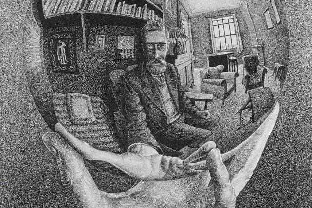 Exposition sur M.C. Escher au MBAC... (Photo courtoisie du Musée des beaux-arts du Canada)