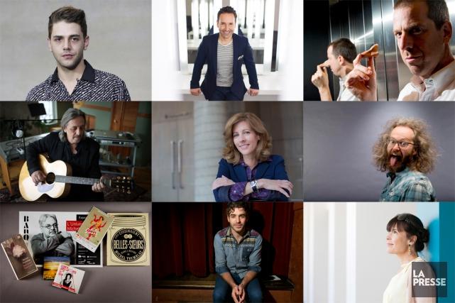 L'équipe des Arts de La Presse vous présente sa liste annuelle des... (PHOTOMONTAGE LA PRESSE)