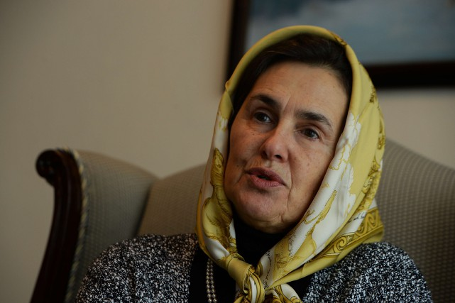 Rula Ghani... (Photo archives AFP)