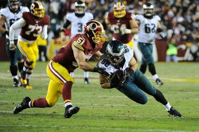 Les Eagles ont perdu une troisième rencontre de... (Photo Brad Mills, USA Today Sports)