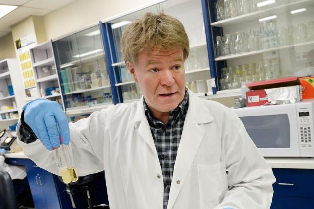 Le microbiologiste Sylvain Moineau a reçu le prestigieux... (Le Soleil, Jean-Marie Villeneuve)
