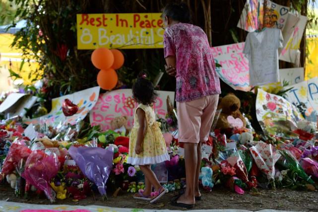 La police n'a pas révélé les causes de... (PHOTO PETER PARKS, AFP)