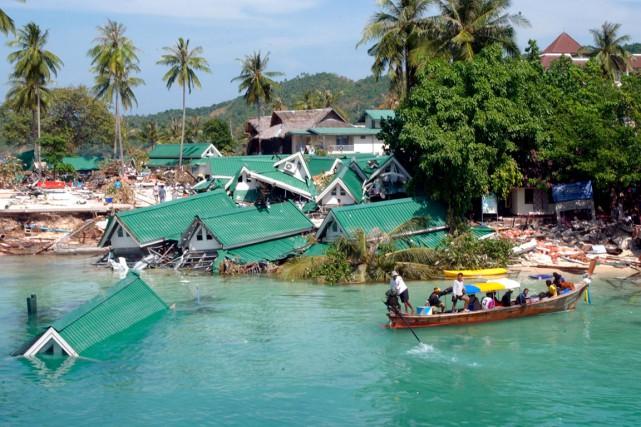 Le 26 décembre 2004, l'Asie du Sud était... (Photo fournie par Yohann Aubé)