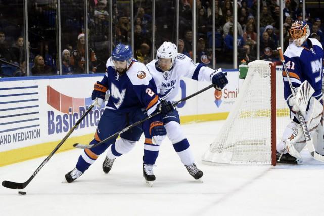 Les Islanders de New York ont défait le... (Photo Kathy Kmonicek, AP)
